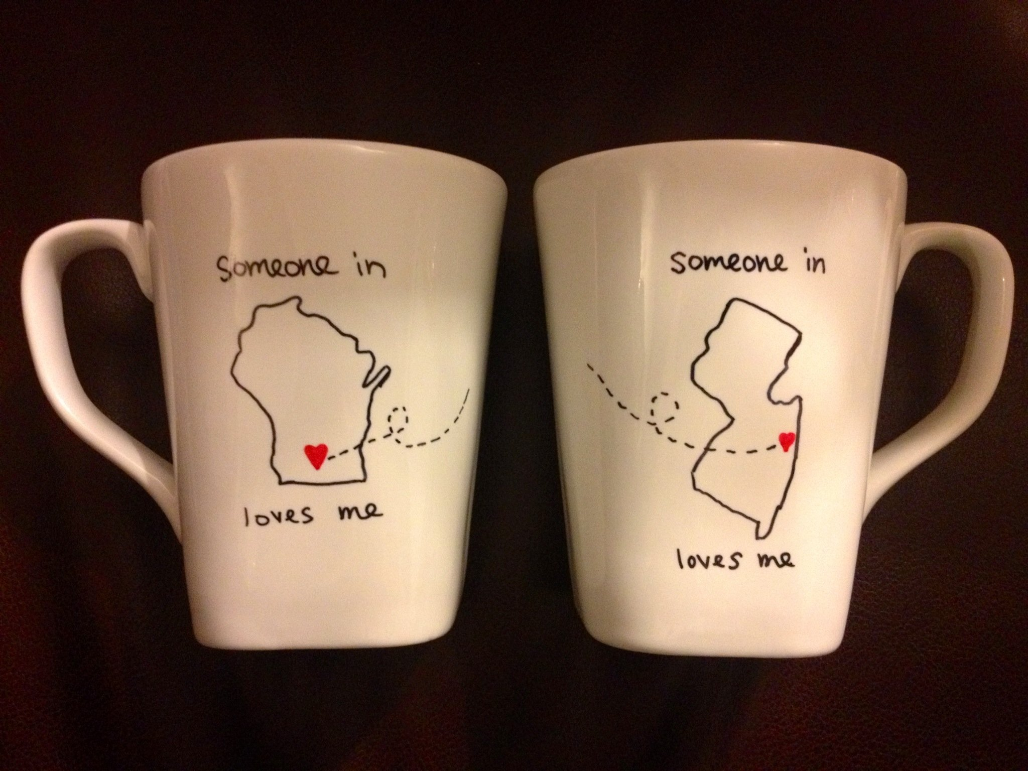 10 Amazing Graduation Gift Ideas For Best Friend long distance friendship mugs made this for my best friend for her 1 2021