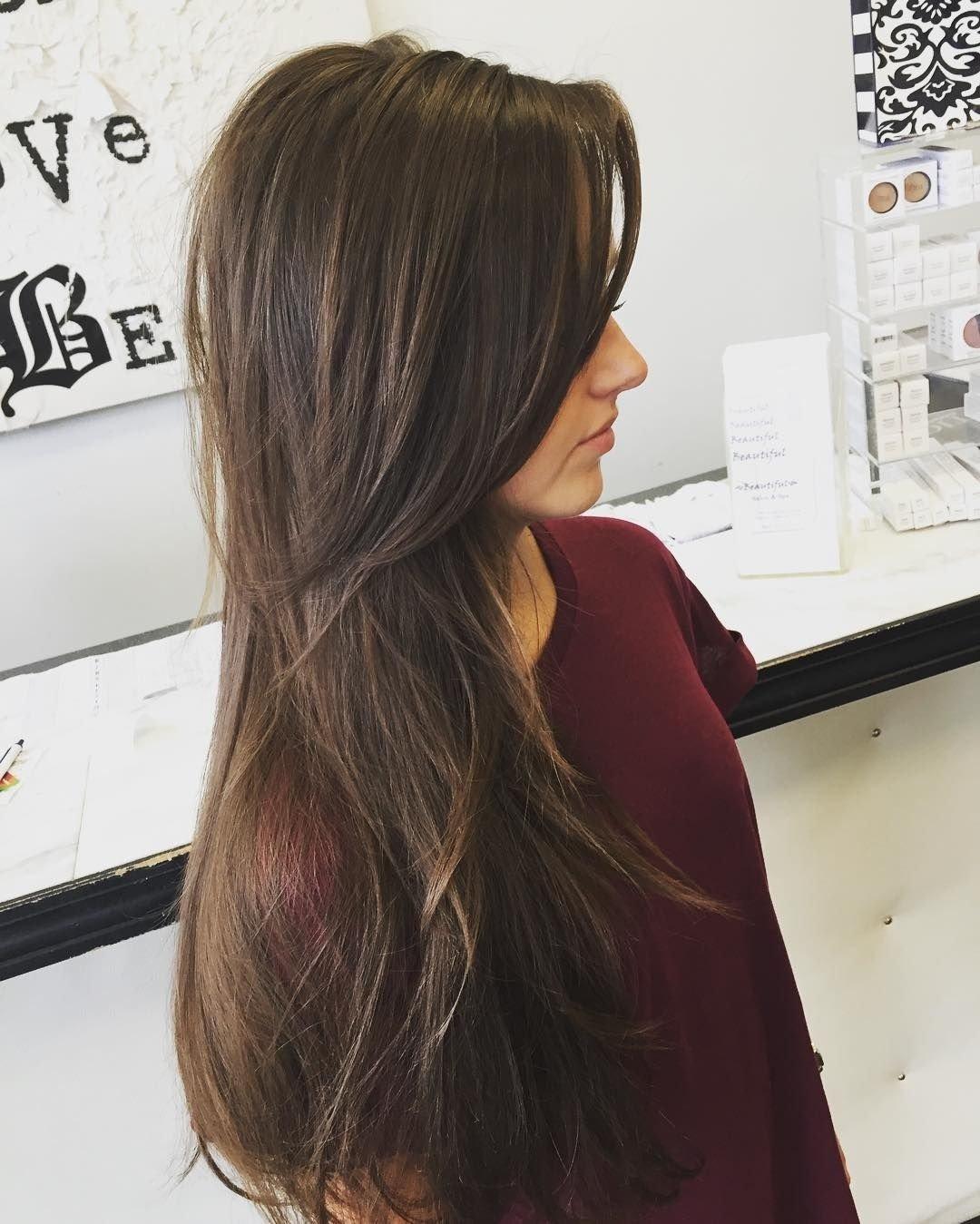 10 Elegant Haircut Ideas For Long Hair long layers for thin hair pinteres 1 2020