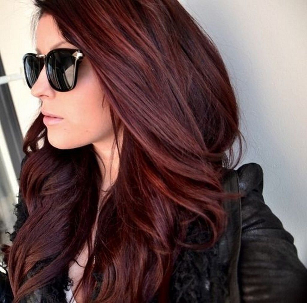 10 Famous Hair Dye Ideas For Dark Hair long red hair color ideas 1000 ideas about dark red hair on 2021