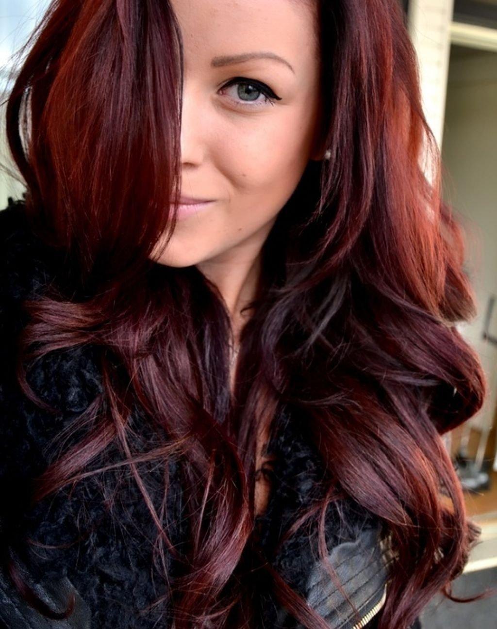 long reddish brown hair color | new colors | pinterest | reddish