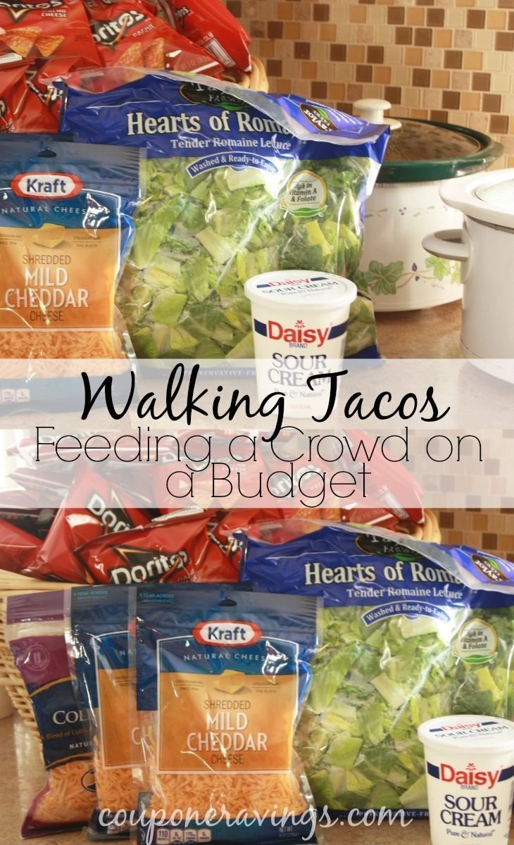 looking for food for a crowd, but you're on a budget? this easy