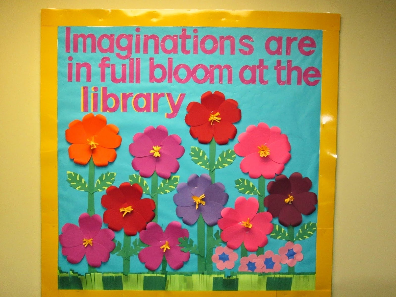 10 Most Recommended Bulletin Board Ideas For March lorris school library blog spring library bulletin board 2021