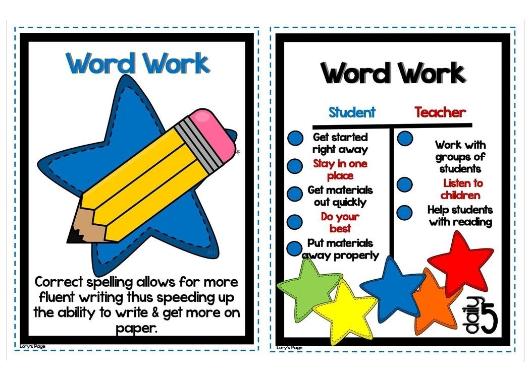 lory's 2nd grade skills: week 5 - word work / spelling