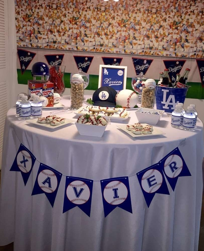 10 Awesome 30Th Birthday Party Ideas Los Angeles Dodgers