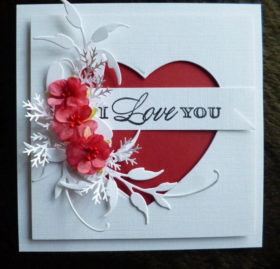 10 Fashionable Valentine Day Card Ideas Homemade lots of love handmade cards ideas for valentines day card 1