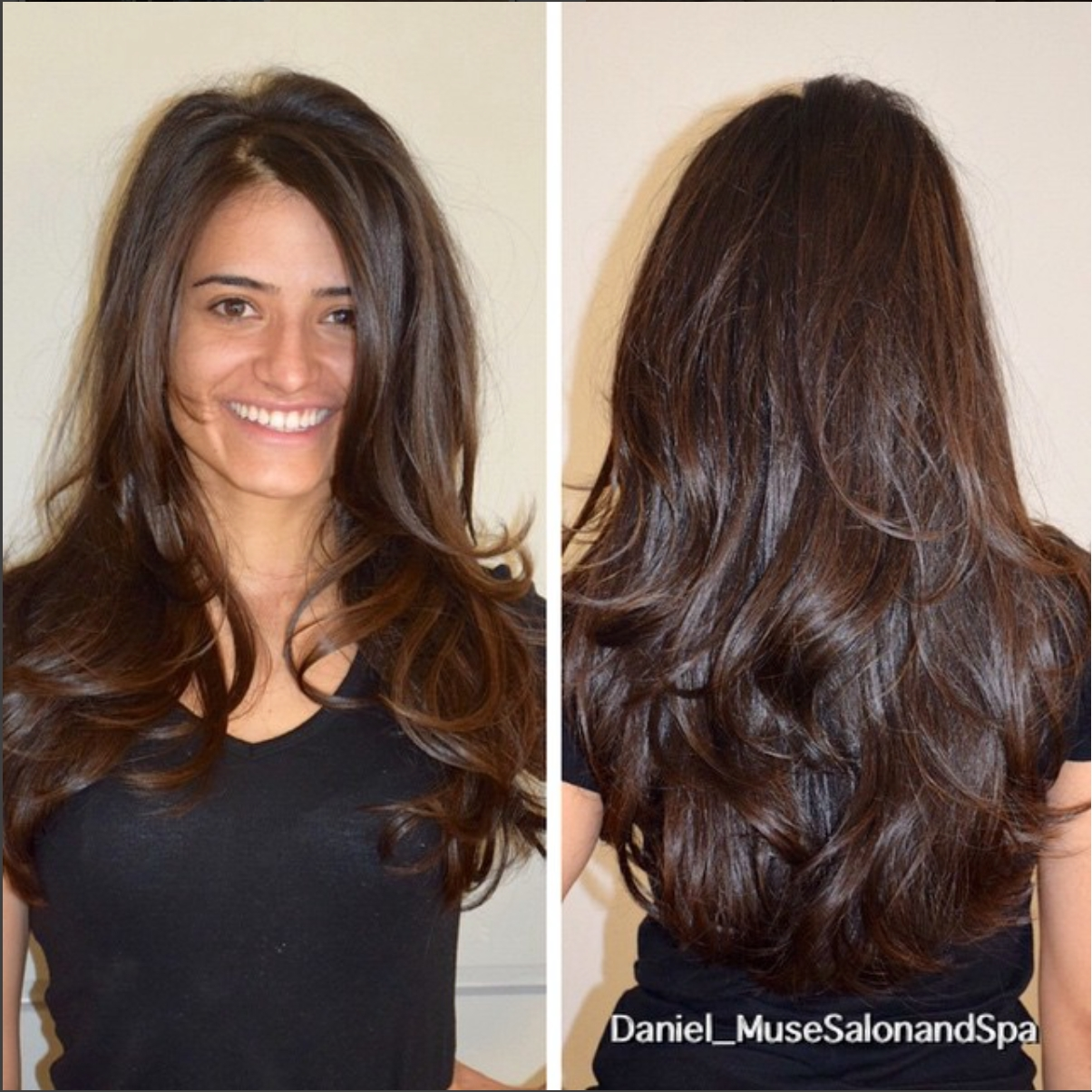 10 Great Haircut Ideas For Long Thick Hair lots of movement in thick hair i created long layered haircut
