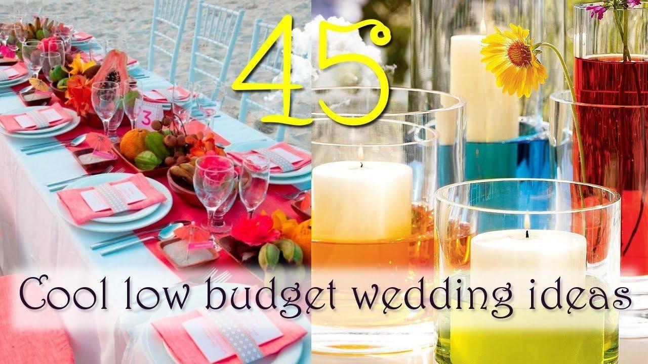 10 Pretty Creative Wedding Ideas On A Budget lovable wedding ideas on a budget cool low budget wedding ideas 2020