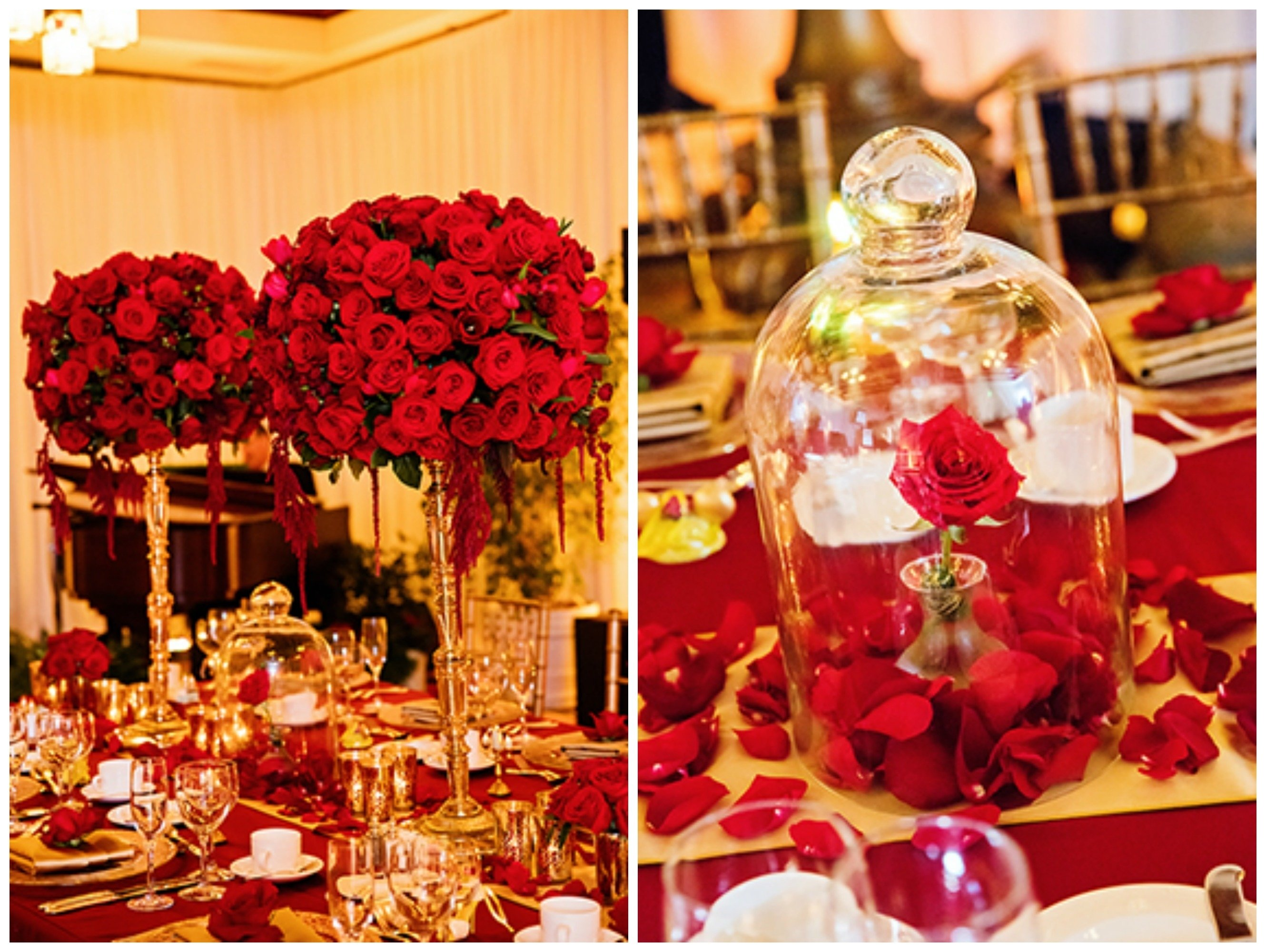 10 Gorgeous Beauty And The Beast Wedding Theme Ideas love disney this beauty the beast decor will make you swoon 2020