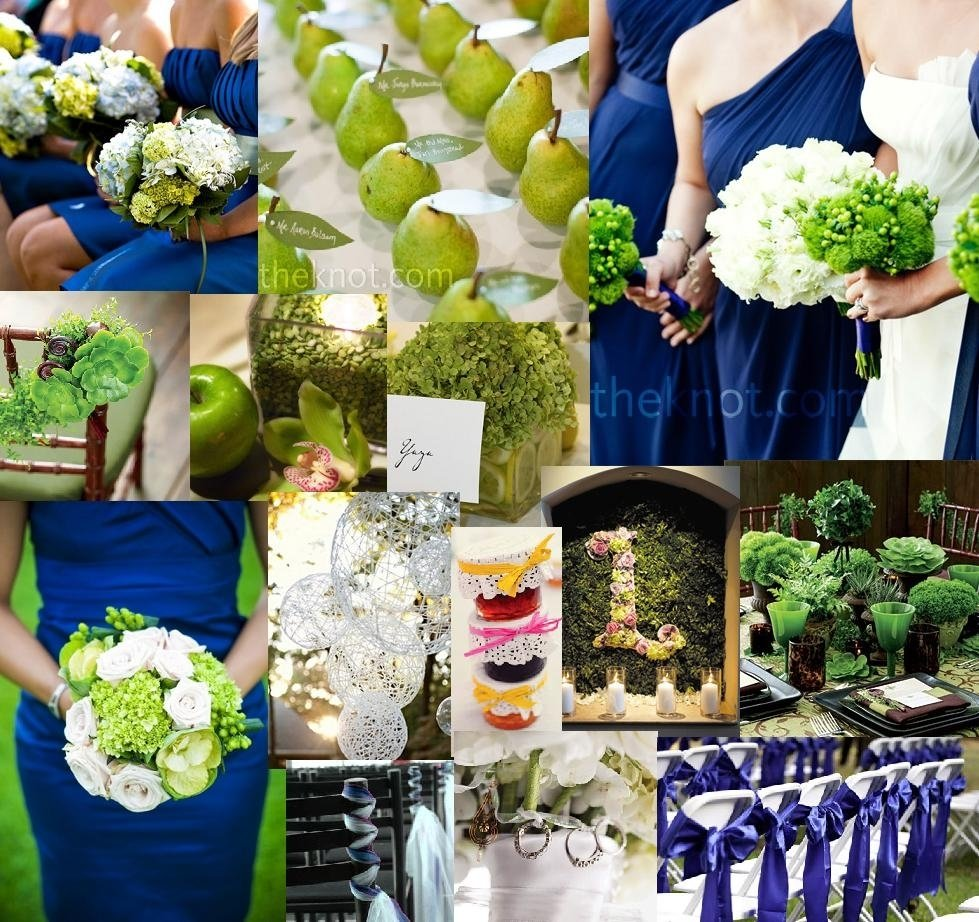 10 Beautiful Blue And Green Wedding Ideas love the bright green paired with this beautiful blue very striking 2020