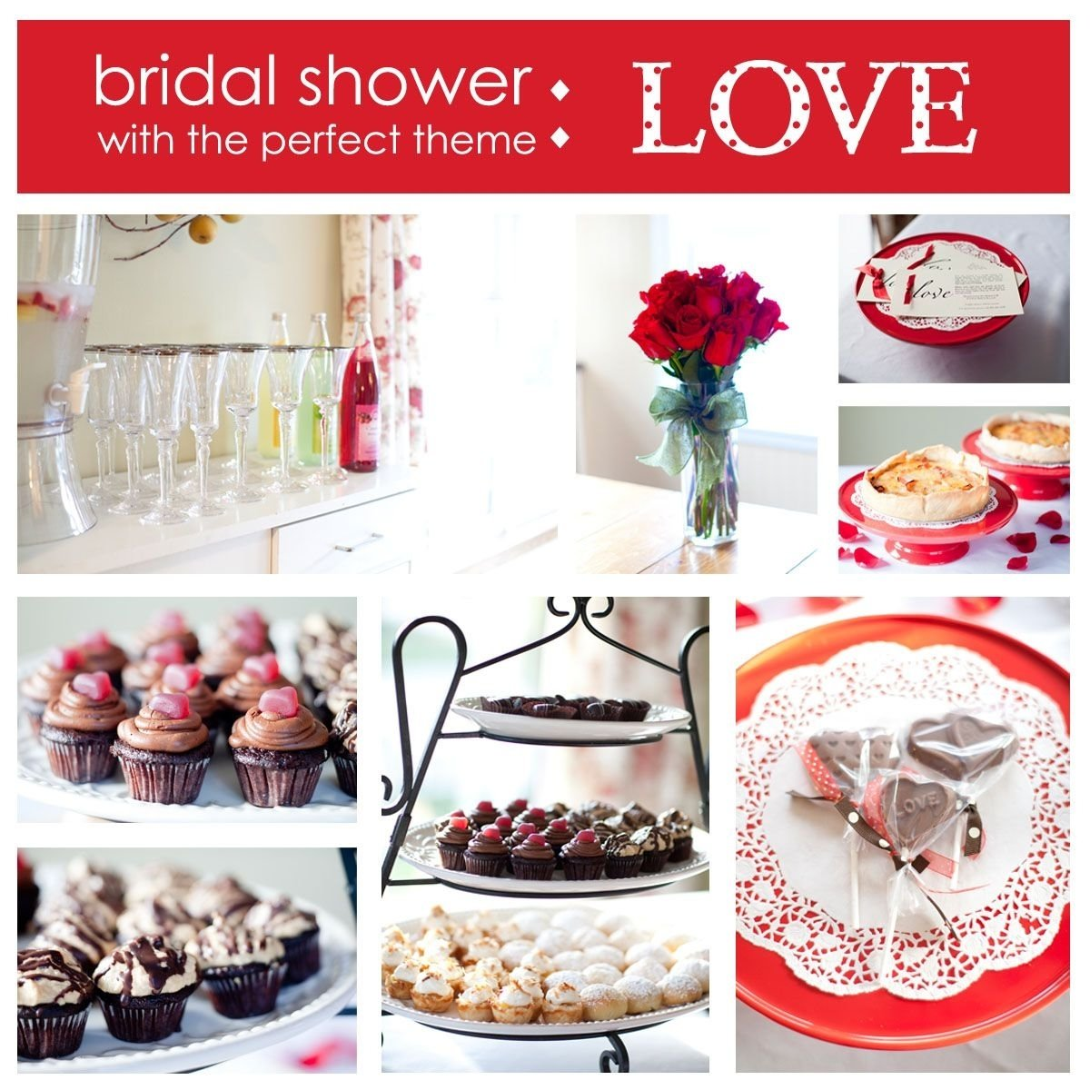 10 Stylish Bridal Shower Themes And Ideas love themed bridal shower ideas for valentines day shower ideas