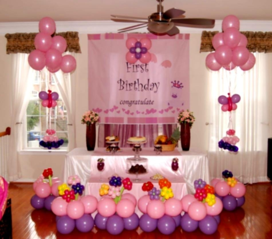 10 Most Popular Cheap 1St Birthday Party Ideas lovely cheap decoration ideas for baby birthday party homelk 2020