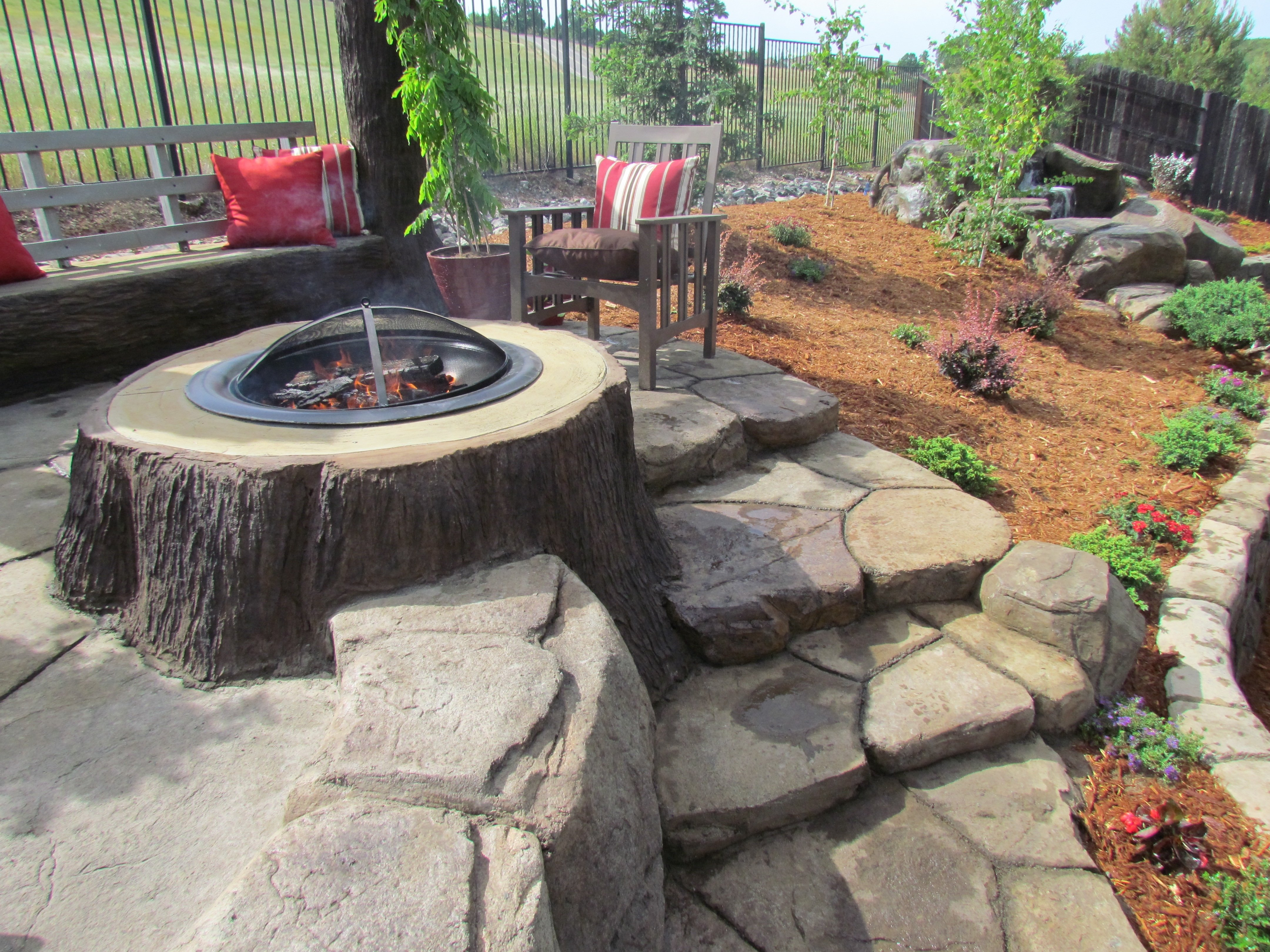 10 Fashionable Homemade Outdoor Fire Pit Ideas lovely concrete fire pit ideas awesome concrete fire pit ideas like 2020