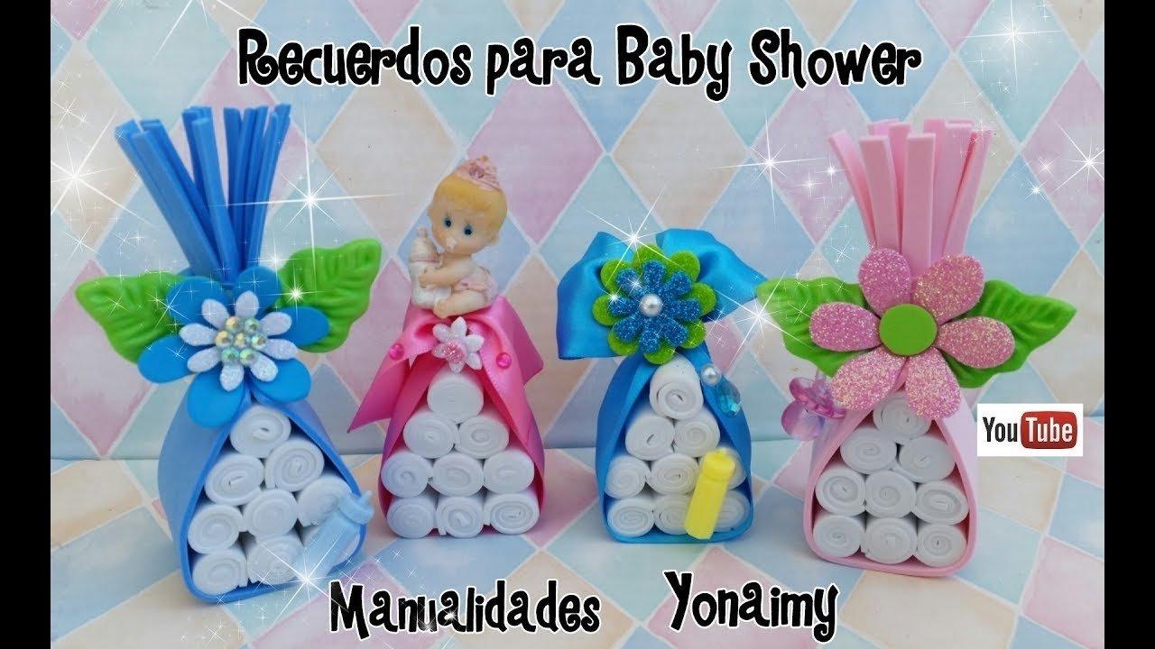 10 Perfect Ideas Para Recuerdos De Baby Shower