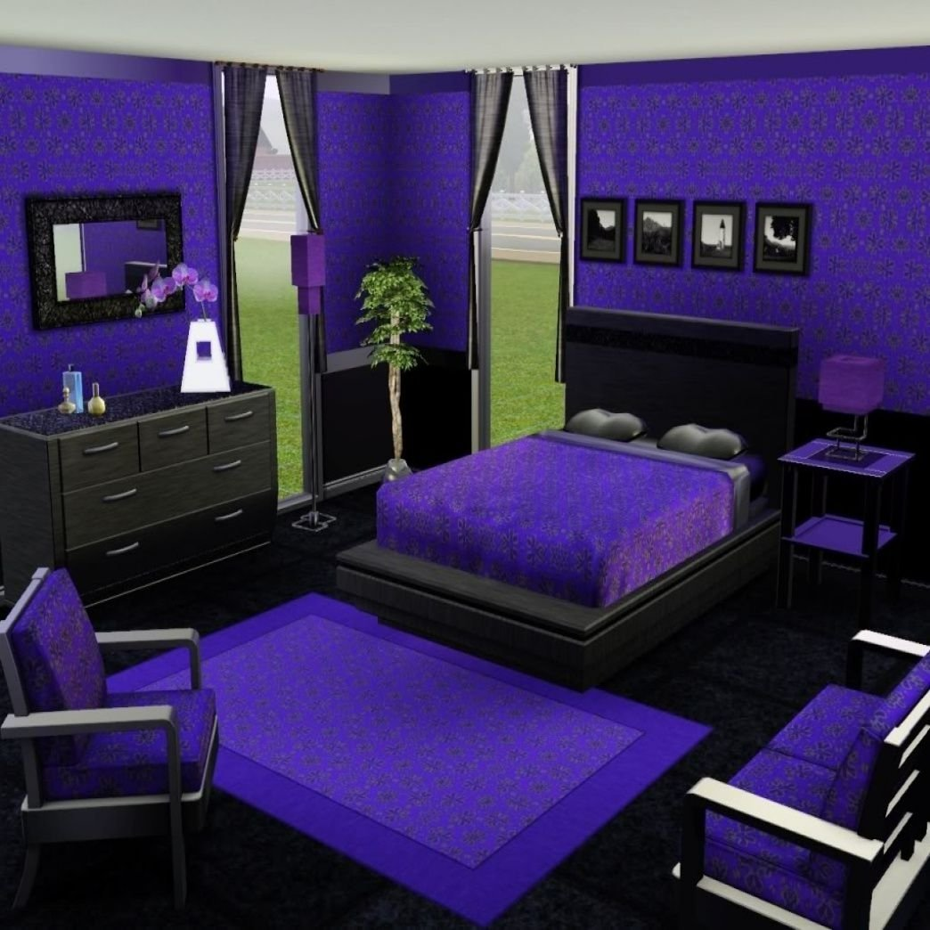 10 Fabulous Purple And Black Bedroom Ideas lovely purple black bedroom ideas check more at http