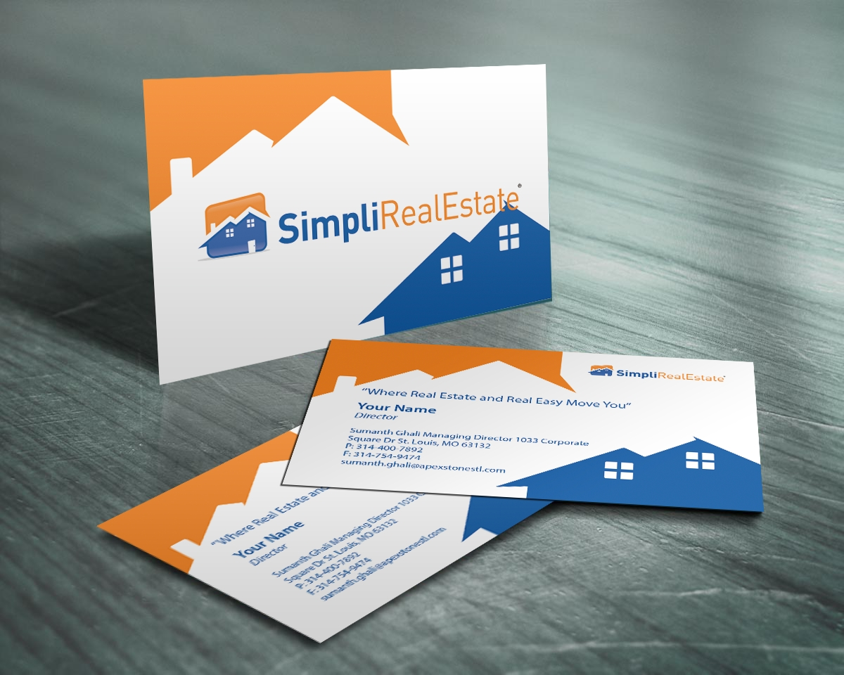 10 Amazing Real Estate Business Cards Ideas