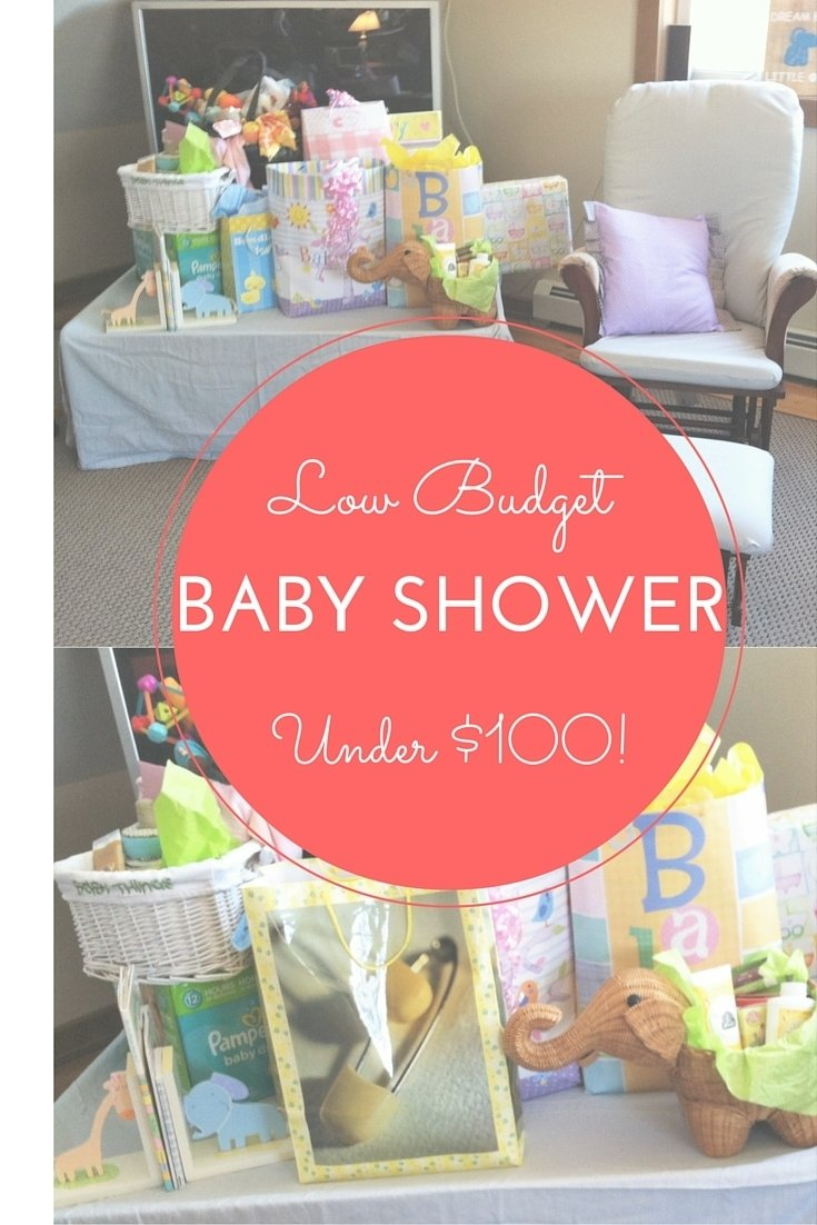 low budget baby shower - how to host a gorgeously frugal baby shower