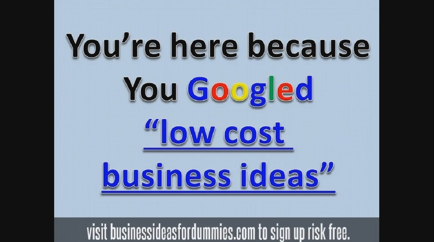 10 Fabulous What Are Good Business Ideas low cost business ideas small investment opportunities 2017 youtube 2 2020