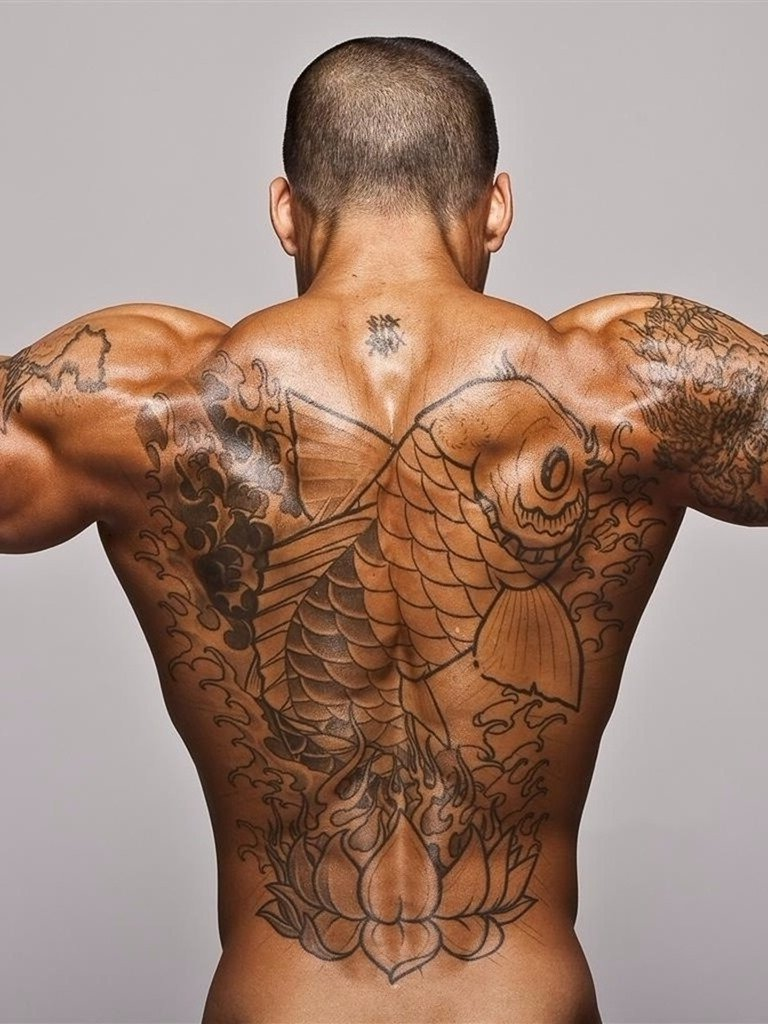 10 Fantastic Back Tattoo Ideas For Guys lower back tattoo designs for men upper back tattoos guys tribal 1 2021