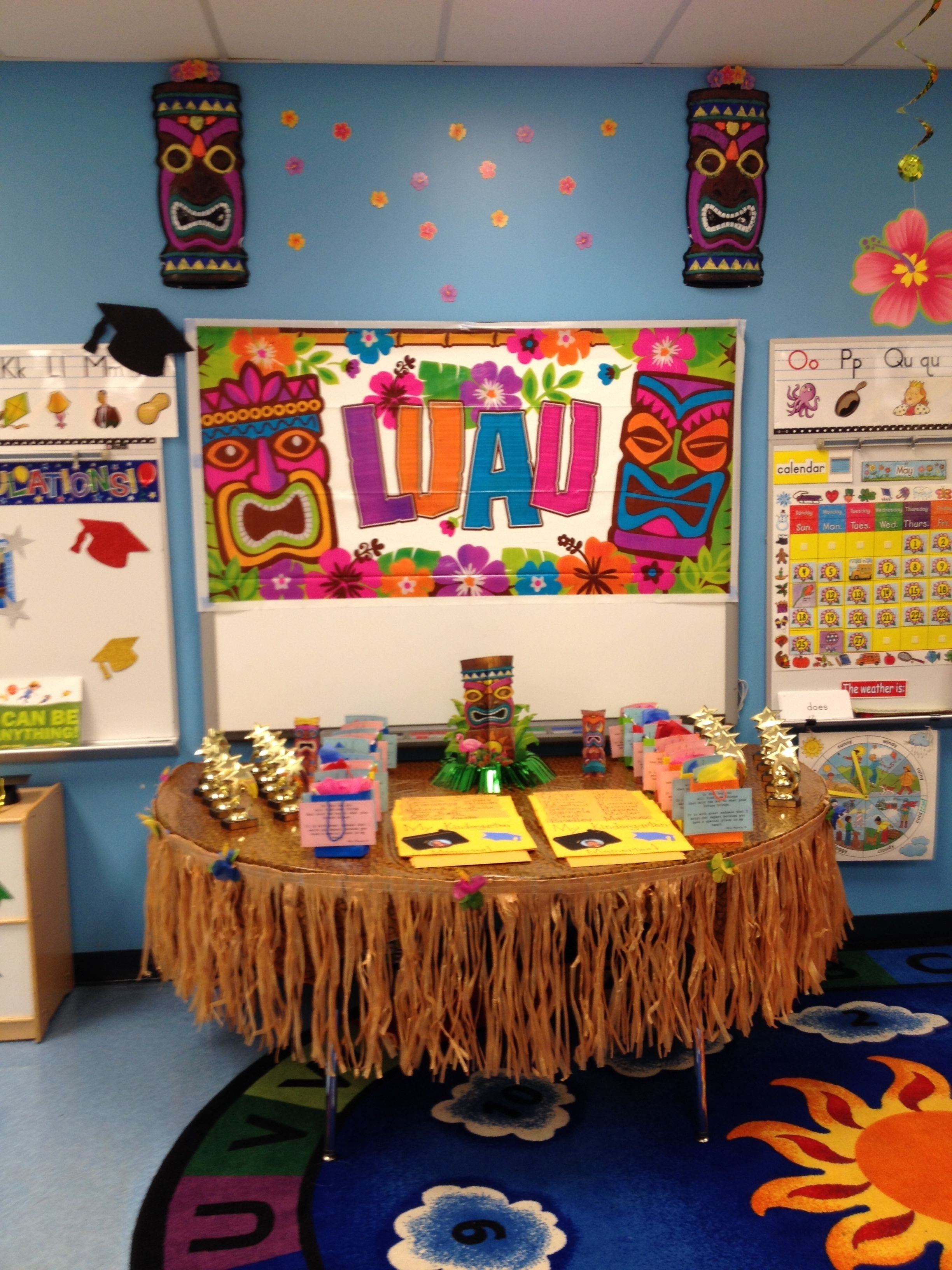 10 Fantastic End Of The Year Party Ideas luau end of the year celebration classroom ideas pinterest 1 2020