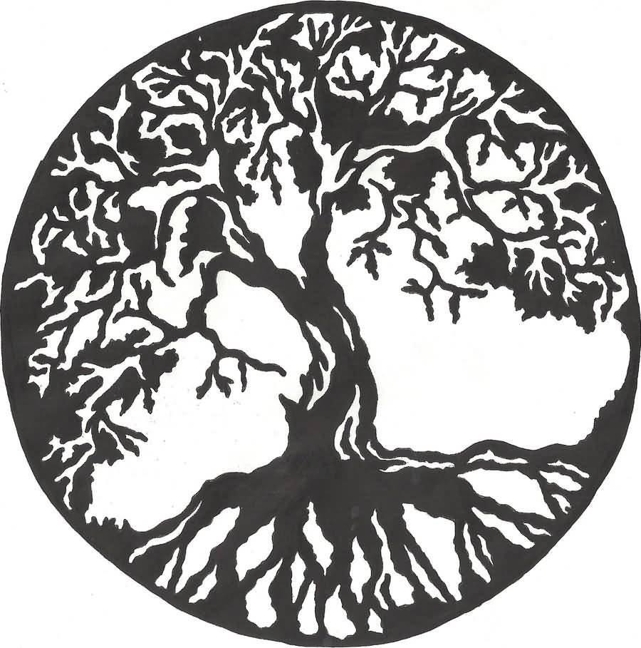 10 Great Tree Of Life Tattoo Ideas lucky cat design a amazing tree of life tattoo design idea golfian