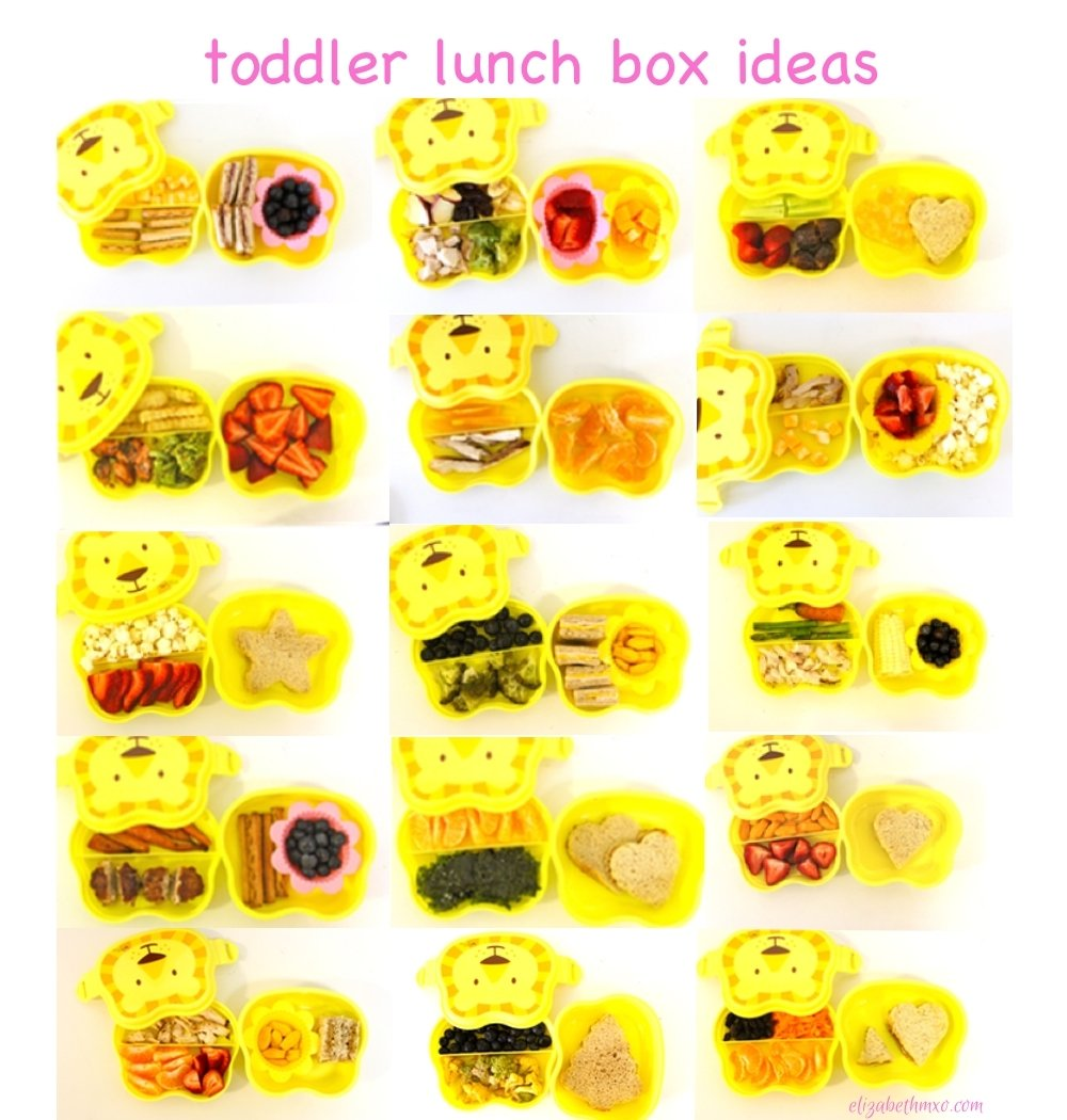 10 Great Lunch Box Ideas For Toddlers lunch box ideas for toddlers elizabeth m xo 2021