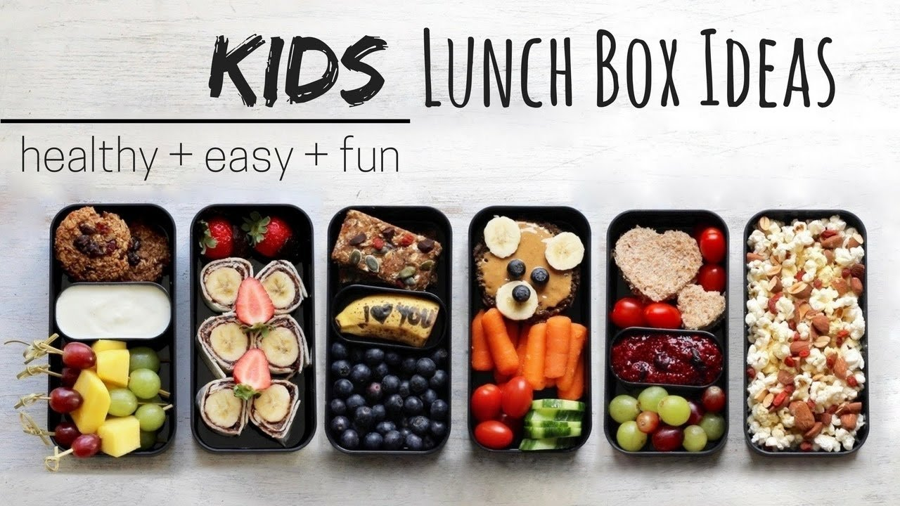 10 Fashionable Bento Box Ideas For Kids lunch ideas for kids vegan healthy bento box youtube 5 2020
