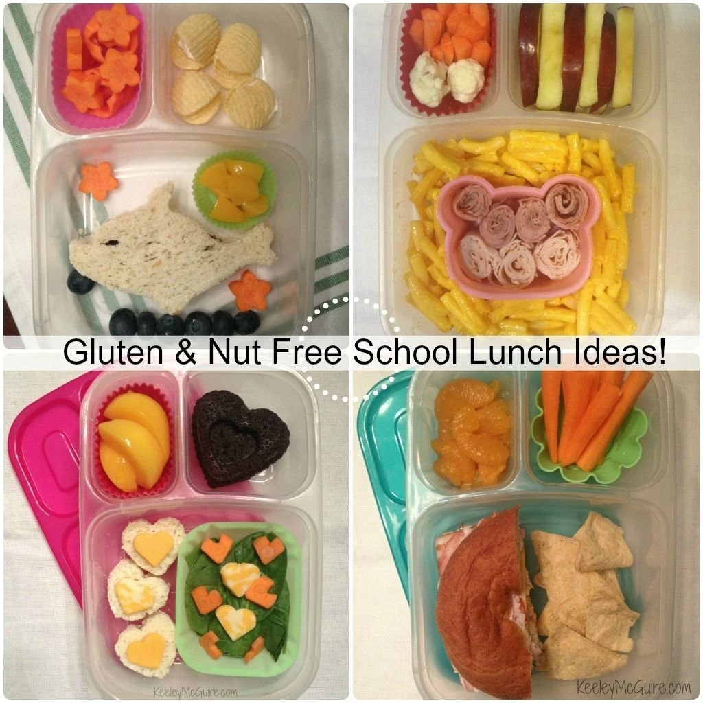 10 Stylish Gluten Free School Lunch Ideas lunch made easy gluten peanut tree nut allergy free school 2020
