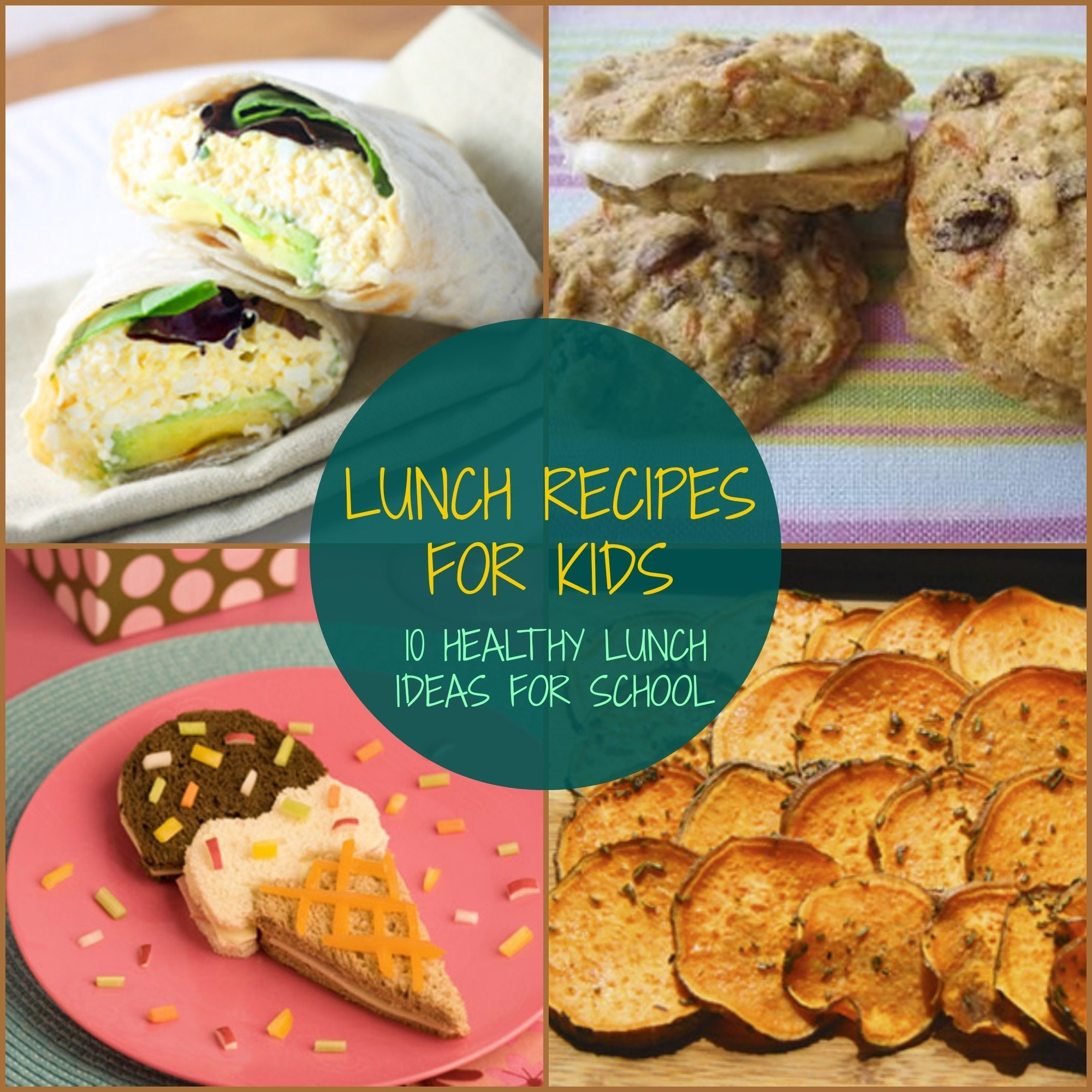 10 Lovely Simple Lunch Ideas For Kids lunch 2020
