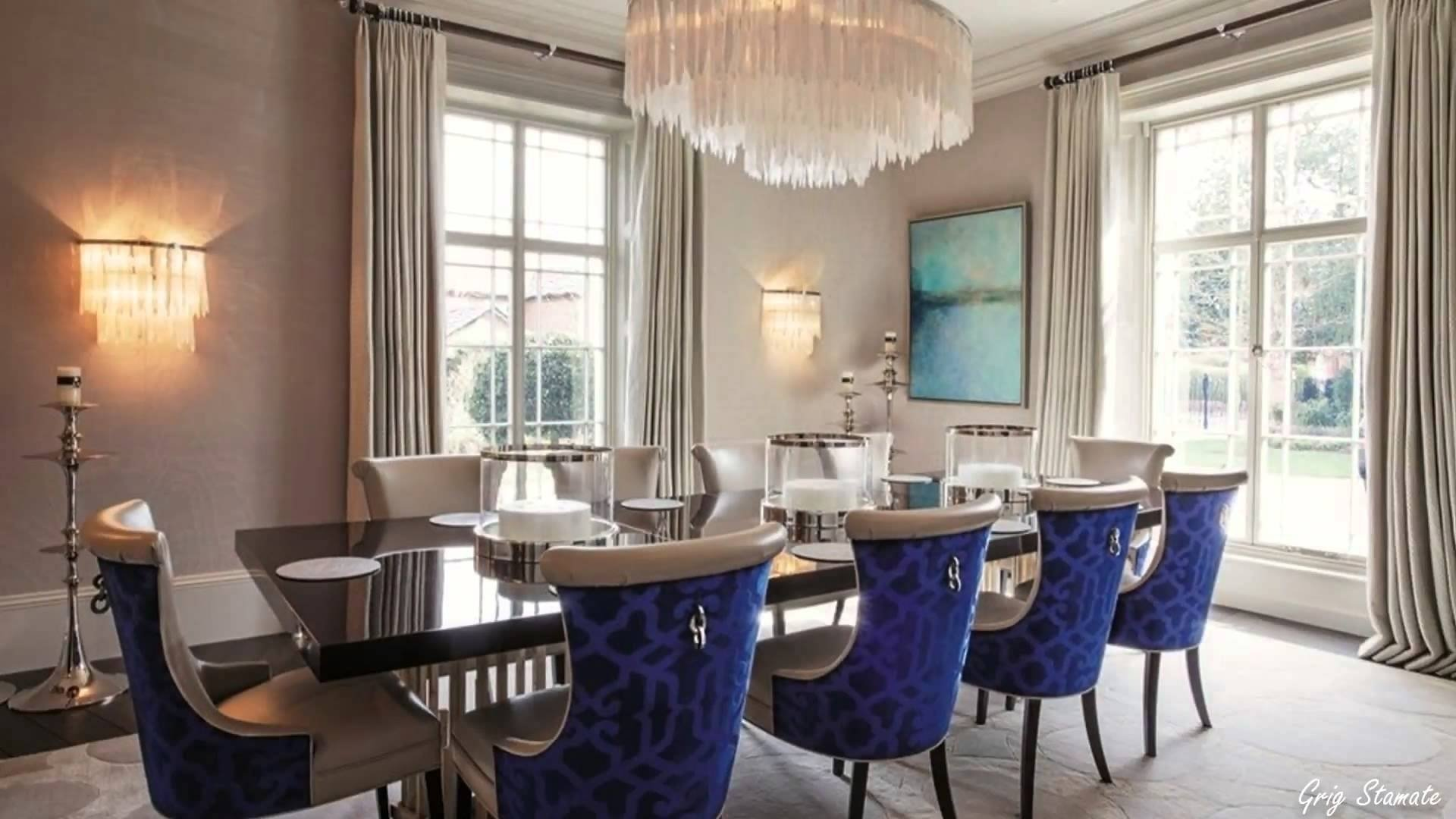 luxurious formal dining room design ideas, elegant decorating ideas