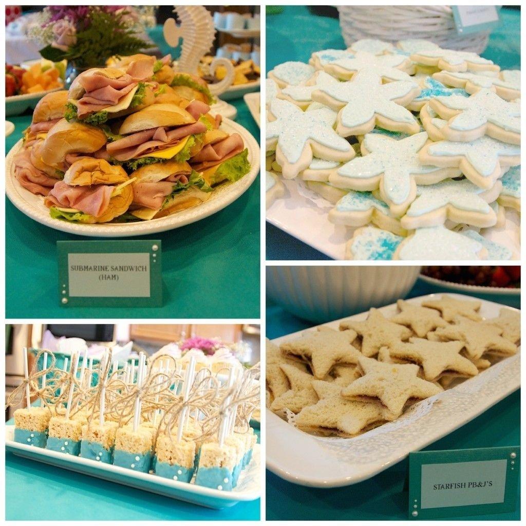 10 Beautiful Under The Sea Food Ideas mackenzies 2nd birthday party under the sea birthdays mermaid 2021