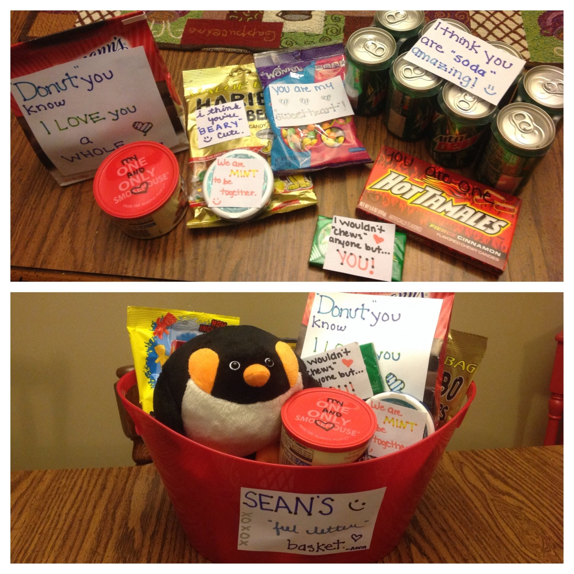 10 Fabulous Get Well Gift Ideas For Men made this feel better basket for my wonderful boyfriend after his 2020