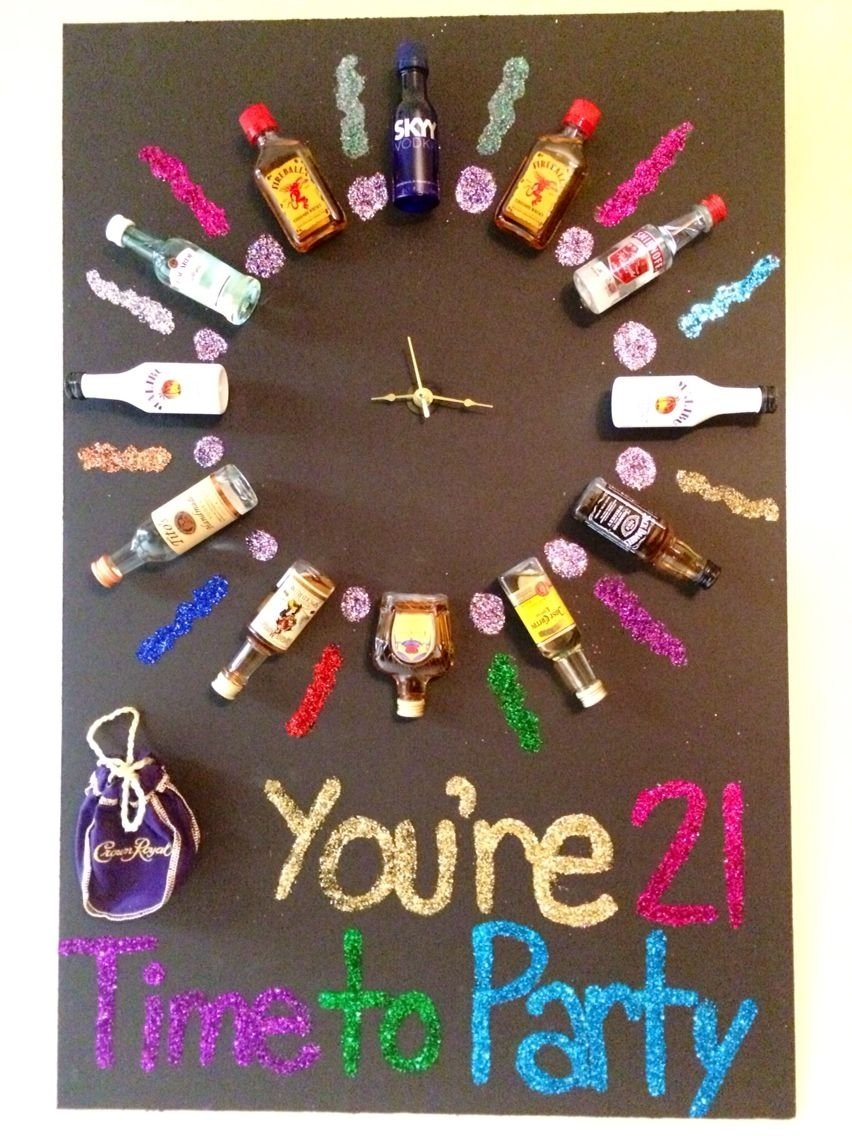 10 Elegant 21St Birthday Gift Ideas For Best Friend Made This My Friends 21st