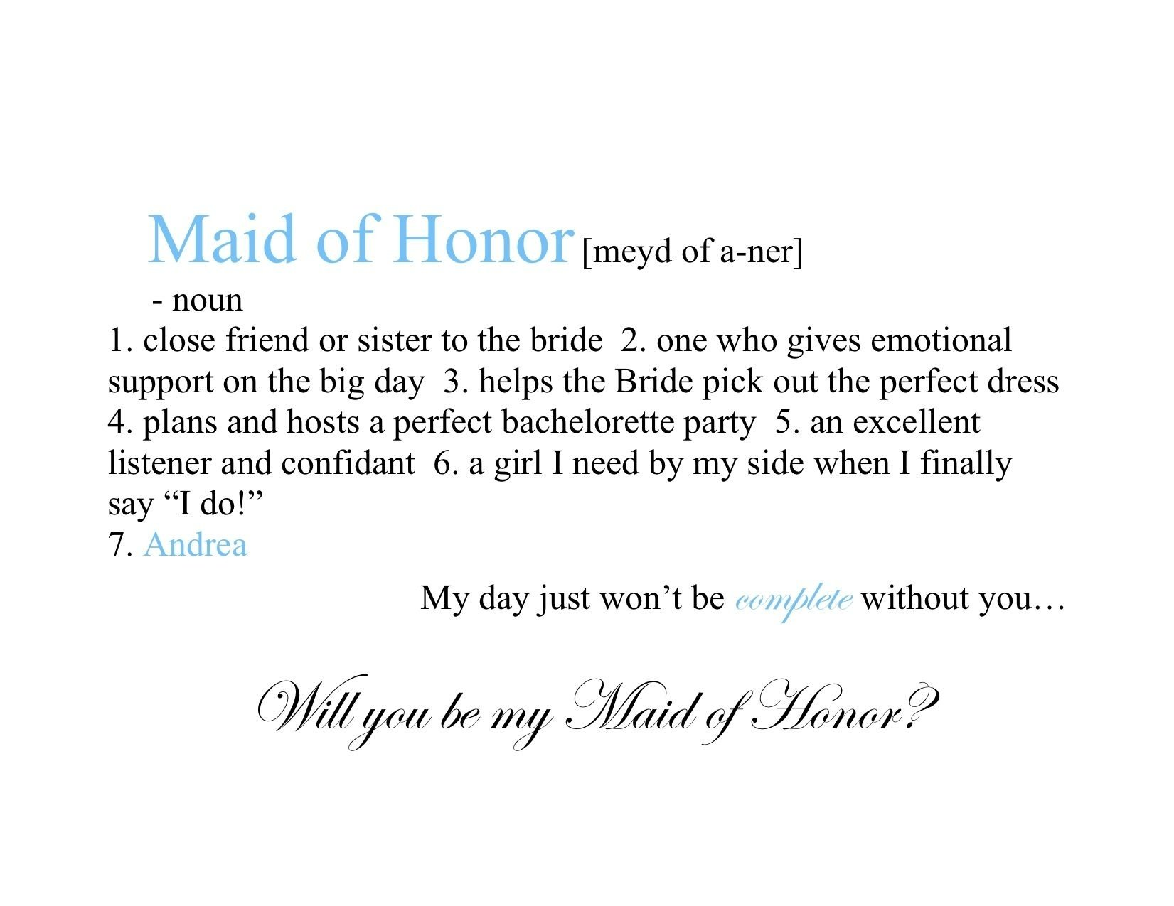 10 Beautiful Maid Of Honor Speech Ideas maid of honor definition wedding pinterest definitions maids 2020