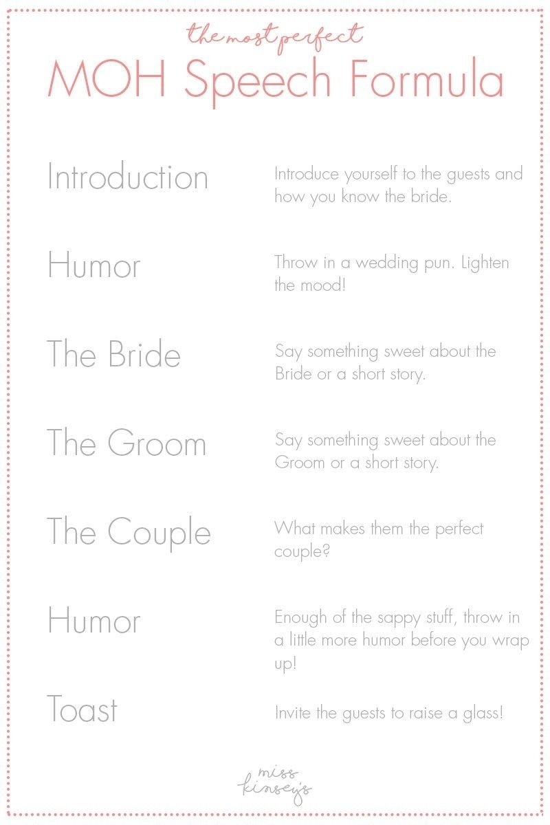 10 Great Maid Of Honor Speech Ideas For Sister maid of honor speech pinteres 3 2020