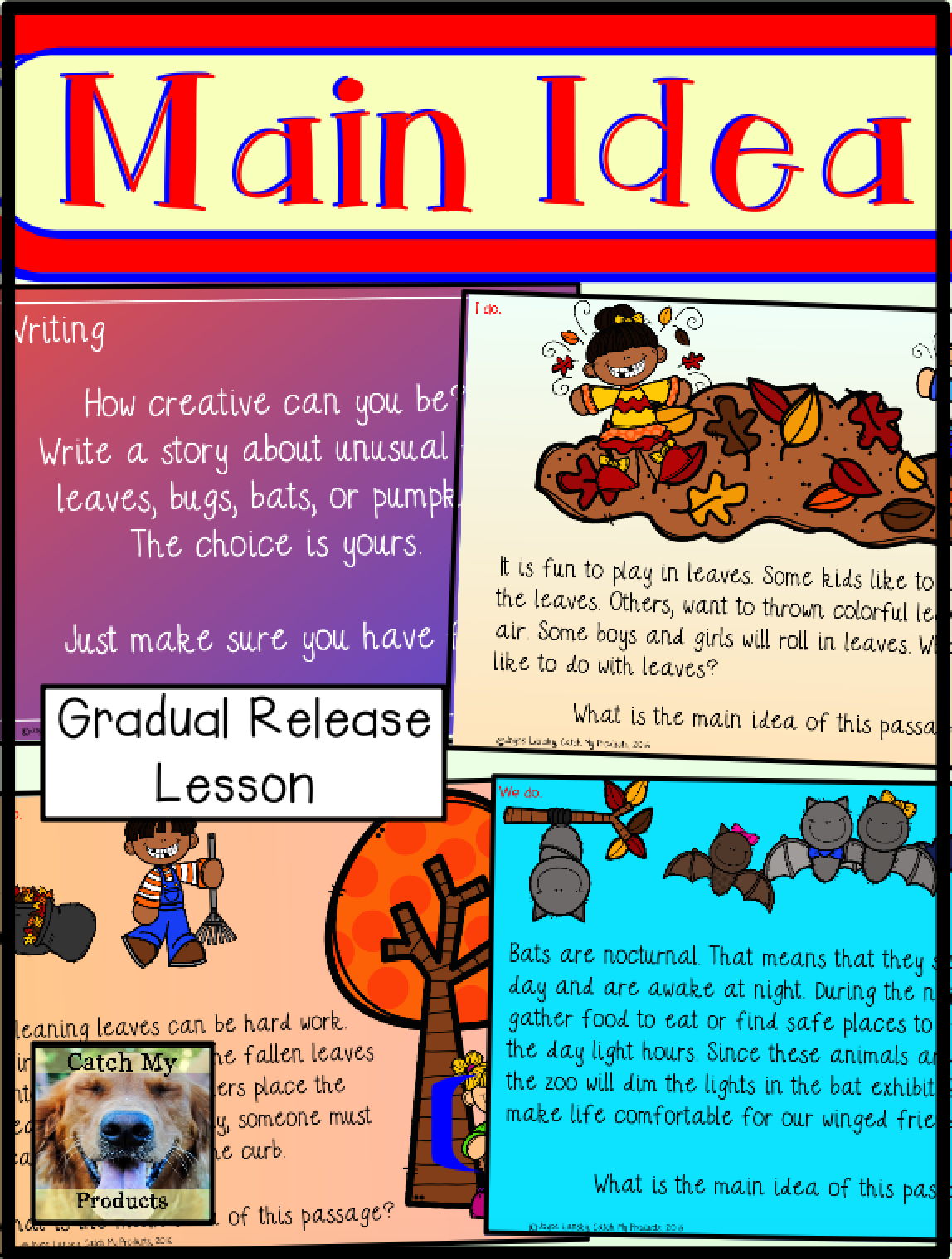 10 Most Popular Main Idea And Details First Grade main idea and supporting details passages reading resources for k