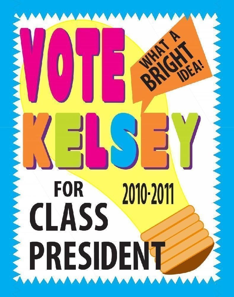 10 Beautiful Cool Poster Ideas For School make a school election poster bright idea class president voting 2020