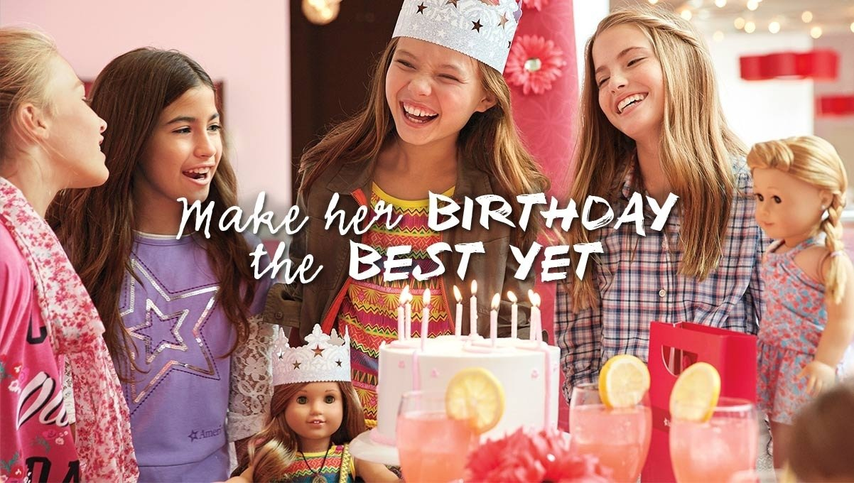10 Great American Girl Doll Birthday Party Ideas make her birthday the best yet explore american girl 2020