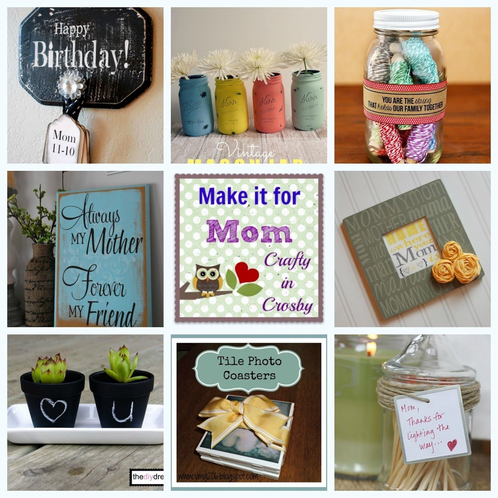 10 Stylish Birthday Gifts For Mom Ideas make it for momcrafty in crosby mothers fathers day 1 2020