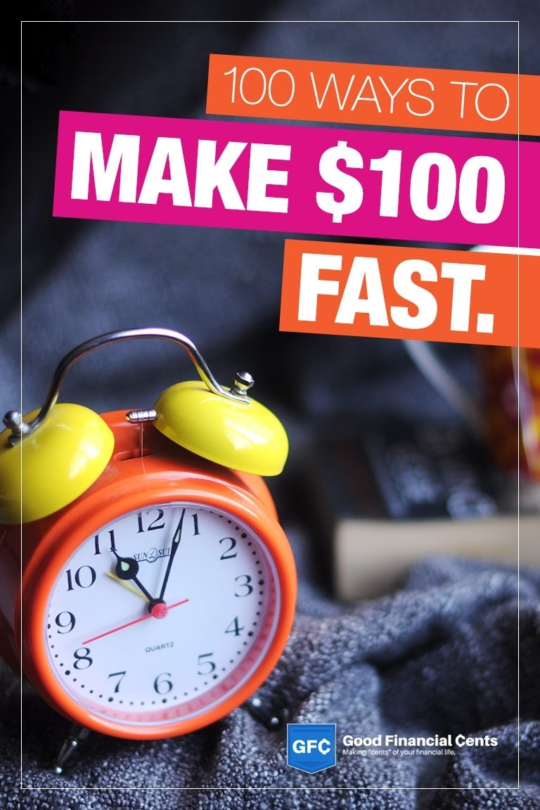 10 Perfect Ideas To Make Money Fast make money fast 107 easy ways to make 100 or even more 1 2020