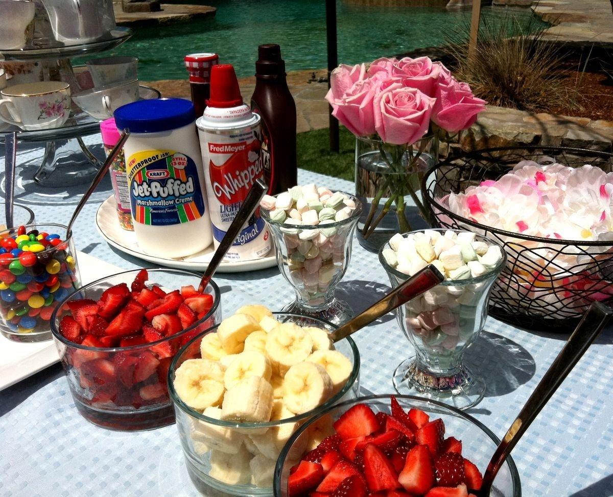 10 Beautiful Ice Cream Sundae Bar Ideas make your own ice cream sundae bar i love this idea for wedding 2020