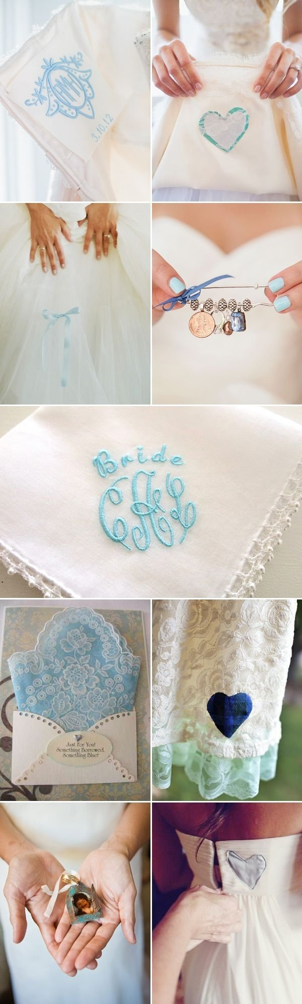 make your own something old, new, borrowed, blue dress pin