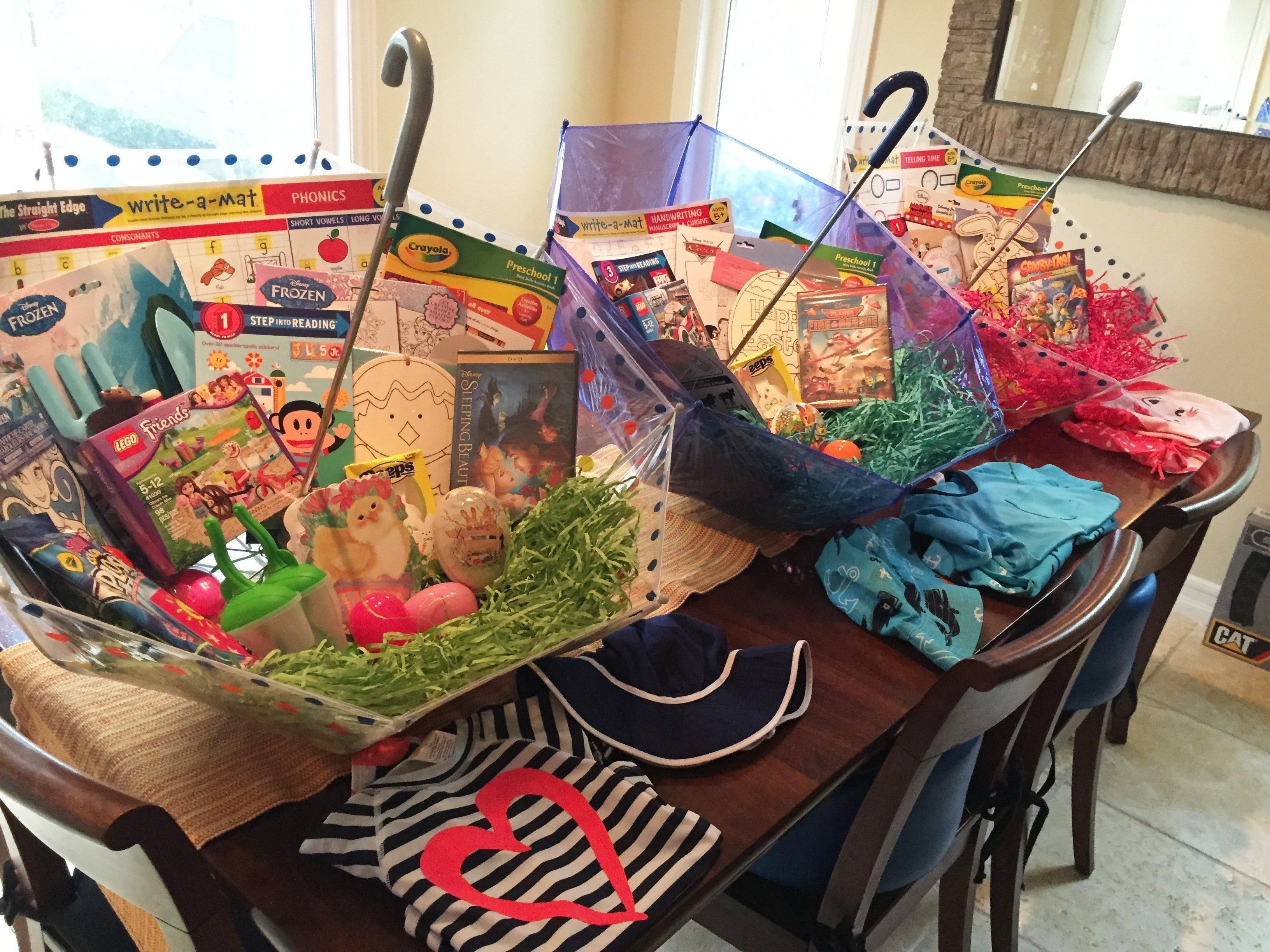 10 Fantastic Make Your Own Gift Basket Ideas make your own umbrella easter baskets non candy centered allergy 1 2021