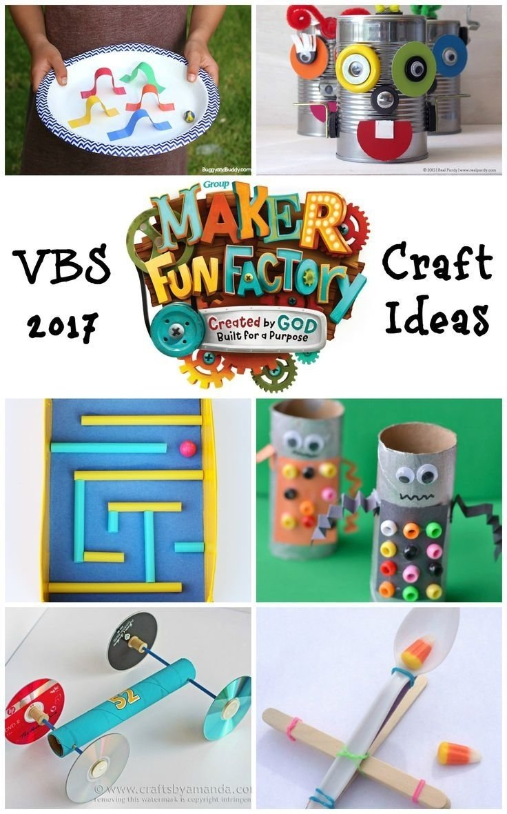 maker fun factory vbs craft ideas | craft, vacation bible school and