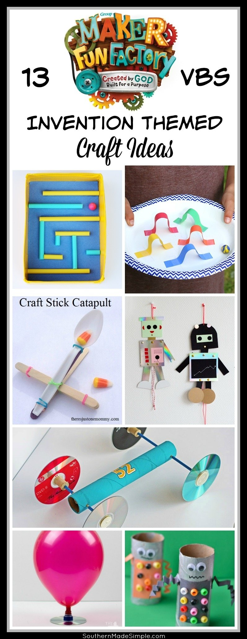 10 Awesome Vacation Bible School Crafts Ideas maker fun factory vbs craft ideas robot craft and vacation bible 2020