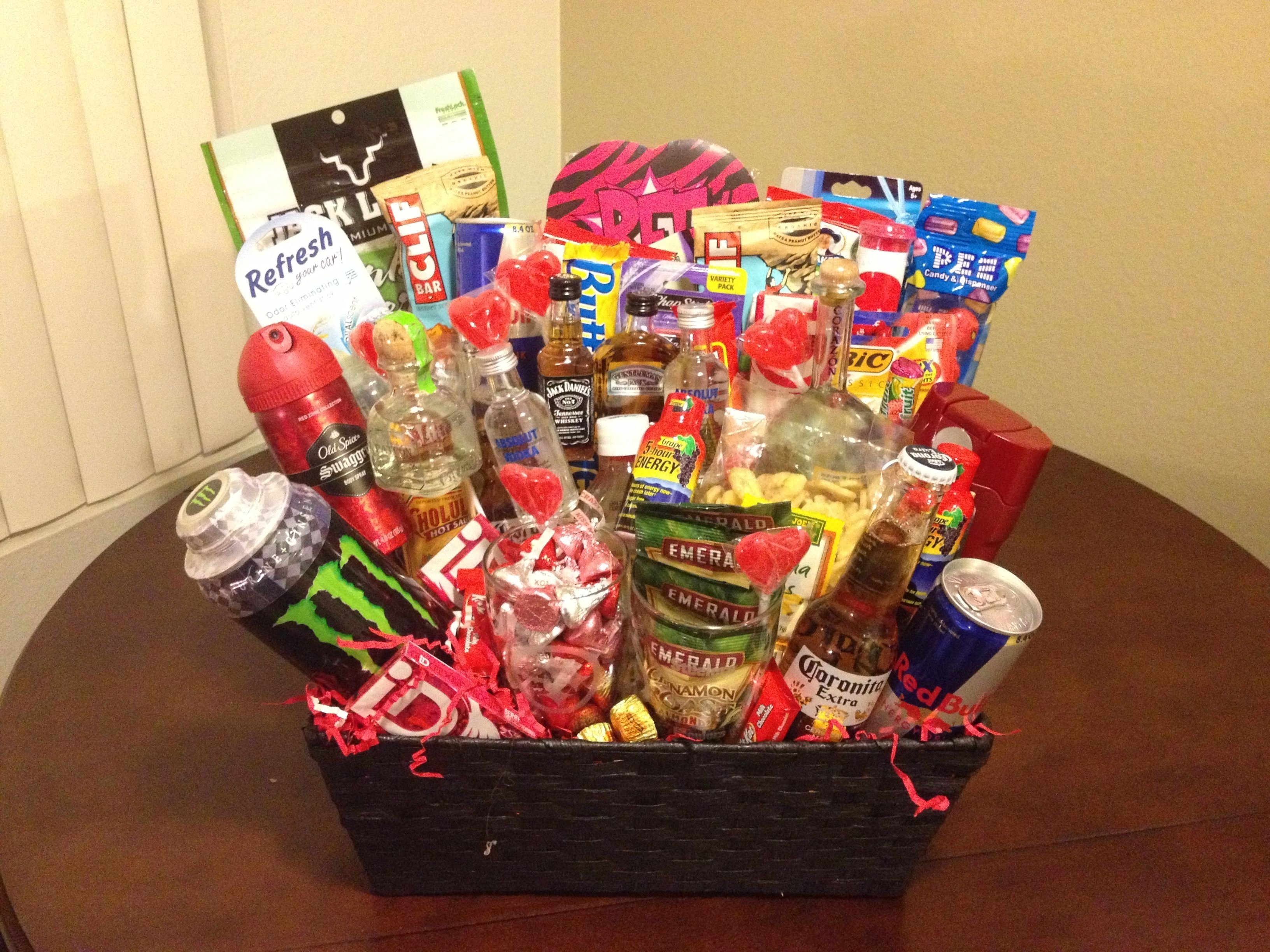 10 Beautiful Easter Basket Ideas For Boyfriend man basket diy pinterest man basket easter and gift 2 2020