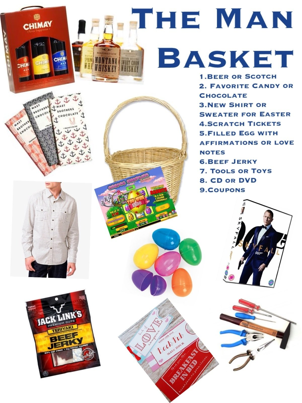10 Beautiful Easter Basket Ideas For Boyfriend man basket for the kid in all of our hubands triplet living 2020