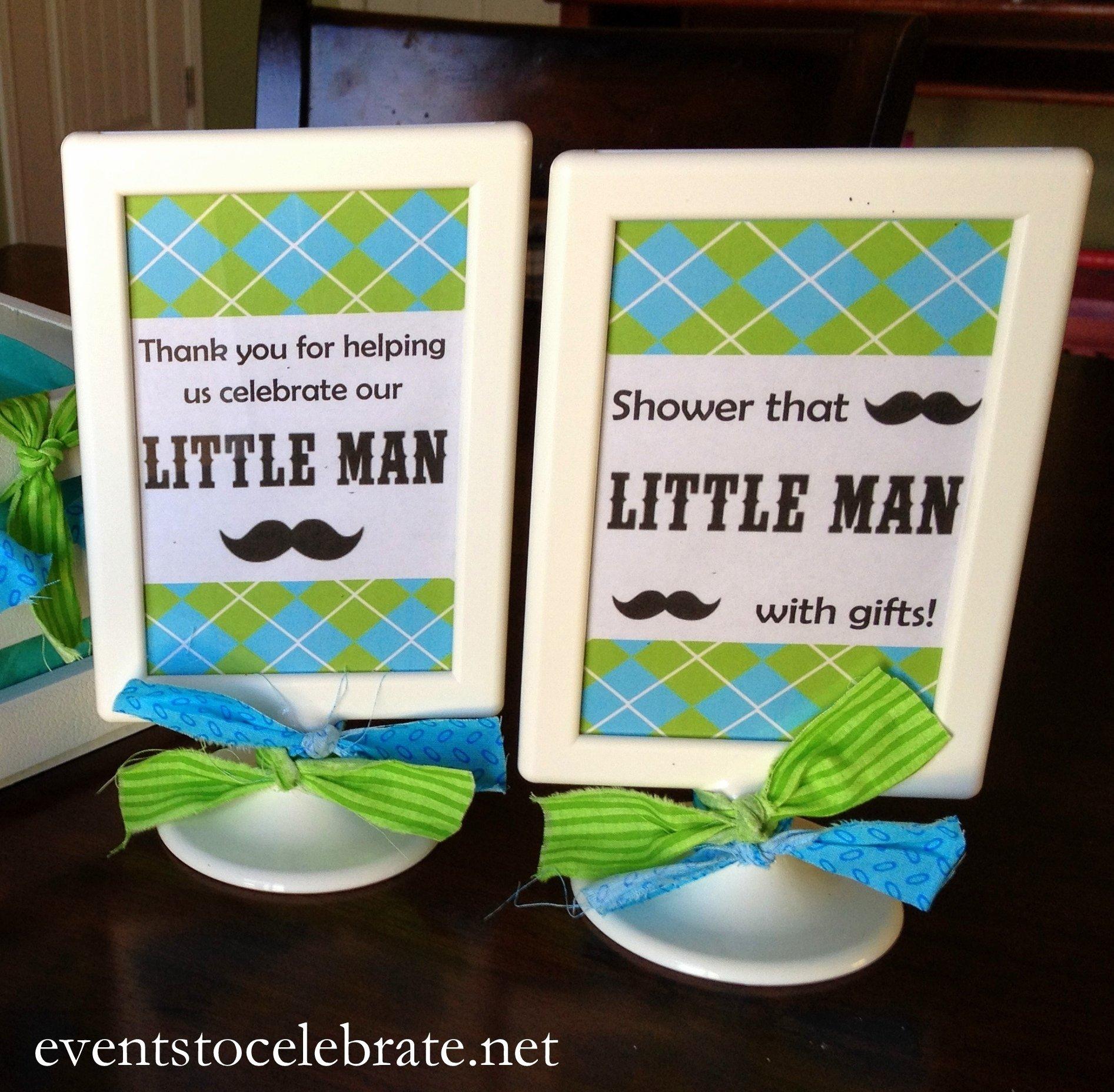 10 Attractive Little Man Baby Shower Ideas man mustache baby shower events to celebrate 2020