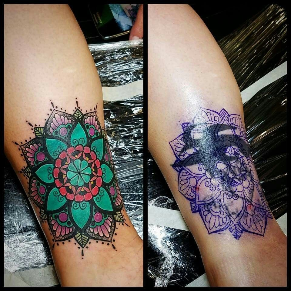 10 Nice Tattoo Ideas For Cover Ups mandala cover up pinteres 2020