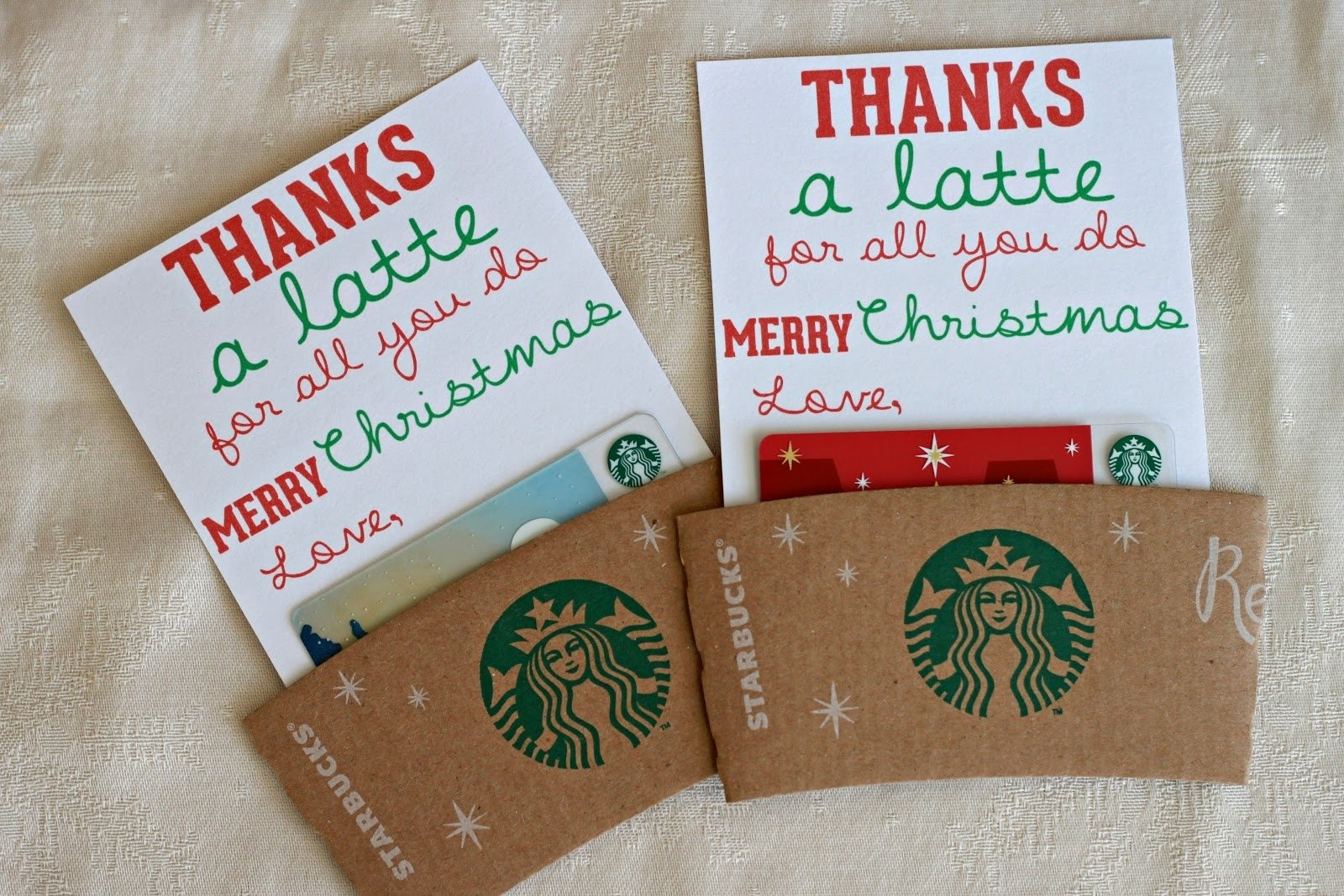 10 Fashionable Holiday Gift Ideas For Teachers mandie starkey thanks a latte diy teacher christmas gift 3 2021