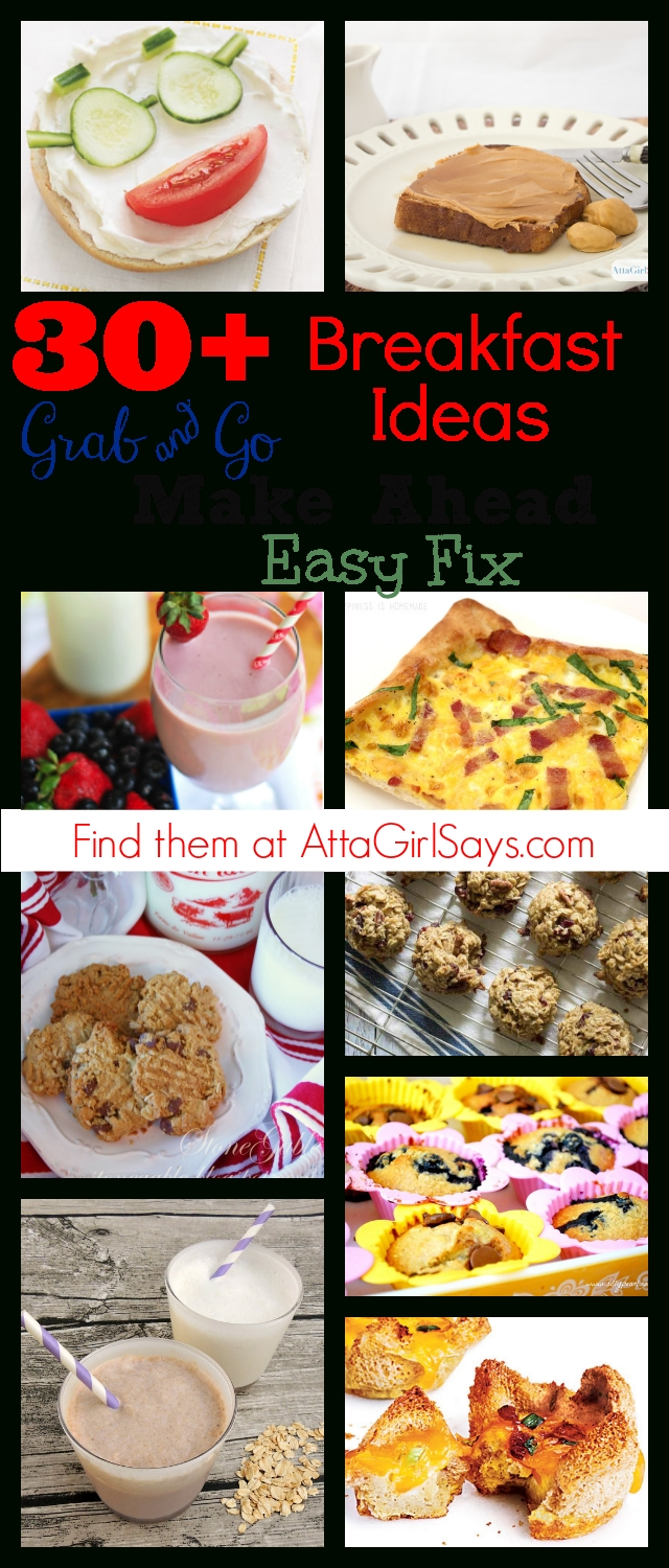 10 Attractive Grab And Go Breakfast Ideas maple nut goodie toast 30 quick breakfast recipes atta girl says 2021